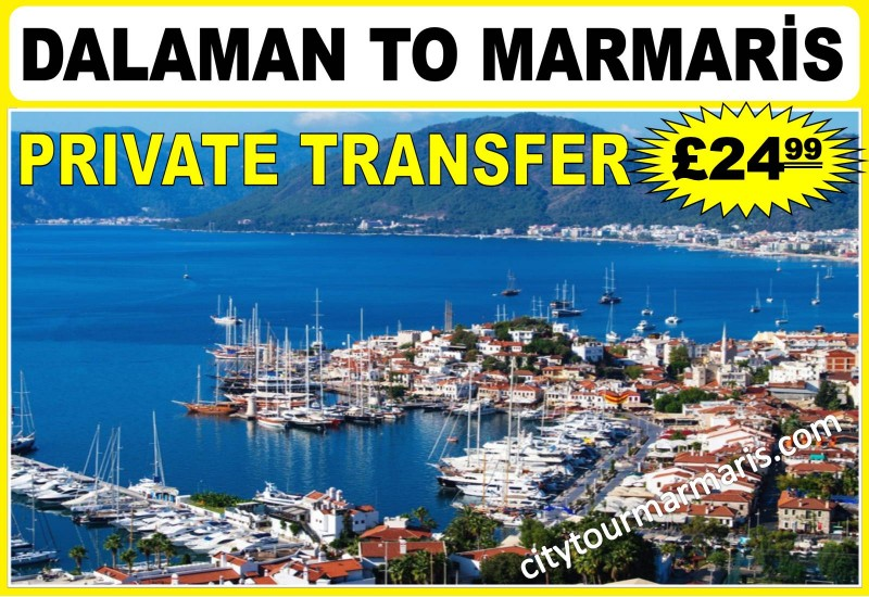 Dalaman to Marmaris Private Transfer